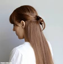 find a hairstyle using your own picture easy hairstyle a simple hair bow made out of your own hair