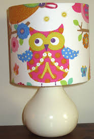 owl lamp children u0027s bedside table lamp 20cm amazon co uk