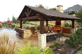 patio ideas covered outdoor kitchen designs and kitchen island