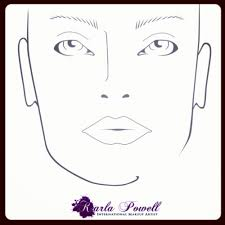 wow my own karla powell makeup design sheet to see why design sheets are important for all makeup artists it is useful to create your own