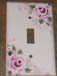 Shabby Chic Light Switch Covers by 70 Best Painted Light Switch Covers Images On Pinterest Light