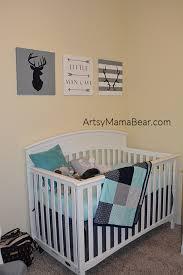 navy aqua u0026 gray nursery artsy mama bear