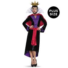 princess costumes for halloween disney deluxe evil queen womens plus size costume buycostumes com