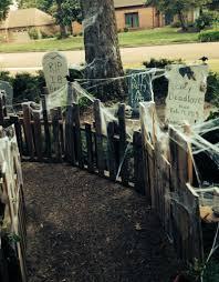 halloween graveyard ideas home design ideas