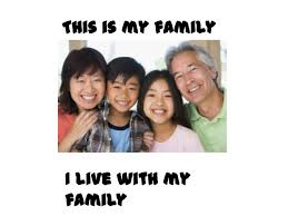 ppt my family