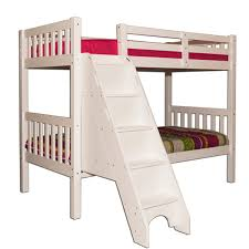 amazing of kids loft bed with stairs white wood storage twin for