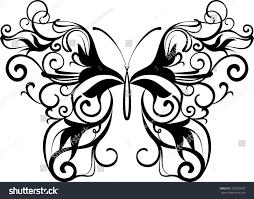 ornamental butterfly stock vector 102183397