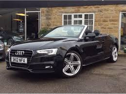 convertible audi used audi a5 cabriolet convertible 3 0 tdi s line cabriolet s