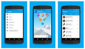 whats app version apk whatsapp blue edition v1 4 mod apk the version