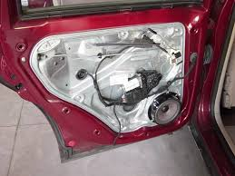rear door disassembly and lock mechanism repair passatb5