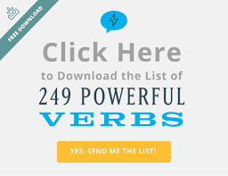 Power Verbs For Your Resume 249 Powerful Verbs That U0027ll Instantly Supercharge Your Writing
