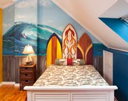 high end kids bedroom childrens interior design playroom retreat youth retreats interior design photo gallery custom surfboard and mural