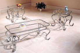 glass coffee table set of 3 3 piece glass coffee table sets living room latitude run set reviews