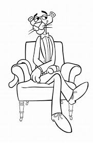 pink panther show coloring pages learn coloring