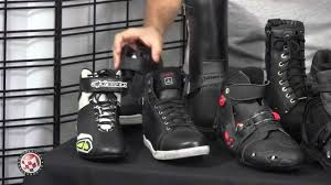 motorcycle boots shoes motorcycle boots buying guide youtube