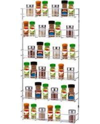 Spice Rack Holder Deal Alert 55 Off 6 Tiers Iron Kitchen Wall Mount Storage