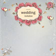Weeding Invitation Card Wedding Invitation Card For Your Text On A Gray Background With