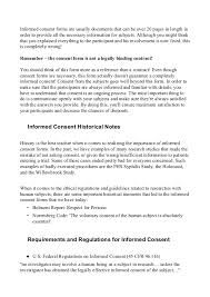 improving informed consent forms