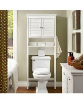 amazing deal on wyndenhall hayes white bathroom space saver