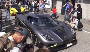 koenigsegg silver original koenigsegg agera rs prototype revs loud and proud