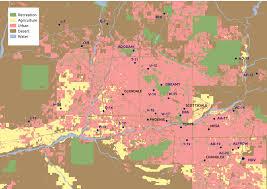 Asu Map Ground Dwelling Arthropods Central Arizona U2013phoenix Long Term