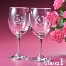 wine glass with initials e angel rakuten global market initials engraved wine glasses