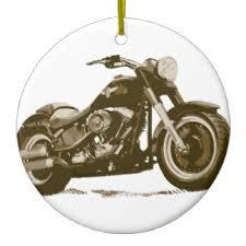 classic motorbike ornaments keepsake ornaments zazzle