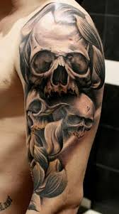 100 awesome skull tattoo designs arms shoulder and tattoo
