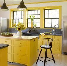 küche gelb frische farben für die küche 58 wohnideen in gelb