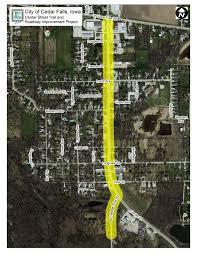 Map Of Cedar Falls Iowa Cedar Falls Clears Way For Center Street Trail Project Local