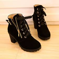 s boots wedge s leather lace up high top wedge heels sneaker shoes