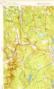 Map Of Northampton Ma Maps Town Of Cummington