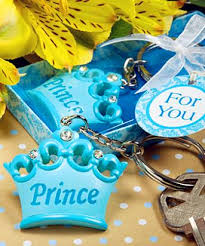 baby shower keychain favors factory directly sale wedding favor prince baby shower keychain
