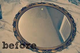 How To Decorate A Small House With No Money by Antique Mirror Update This Little Estate