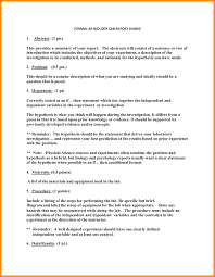 biology lab report template 7 exles of biology lab reports parts of resume