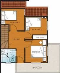 Floor Plan Two Storey House Filipino Architect Contractor 2 Storey House Design Philippines