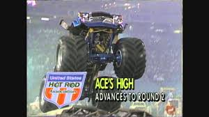 monster truck racing association ushra pontiac 1986 and 1989 youtube