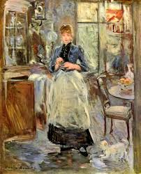 The Dining Rooms by File Berthe Morisot 003 Jpg Wikimedia Commons