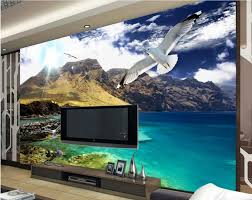 Wall Murals 3d Online Get Cheap 3d Wall Murals Mountains Aliexpress Com
