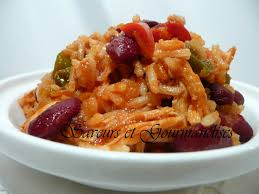 cuisiner haricots rouges saveurs et gourmandises riz au poulet et haricots rouges