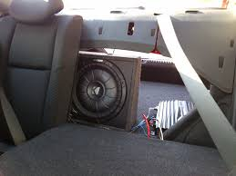 nissan frontier subwoofer box factory sub replacement page 4