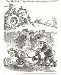 Iron Curtain Political Cartoons The Truman Doctrine Truman Had Been Horrified At The Pre War