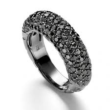 black stones rings images Black marriage ring images jpg