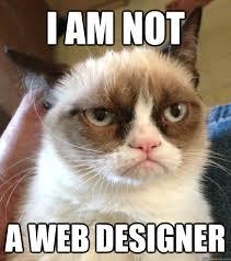Web Design Memes - i am not a web designer misc quickmeme