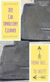 Do It Yourself Car Upholstery Best 25 Car Upholstery Cleaner Ideas On Pinterest Clean Car