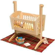 Free Wood Baby Cradle Plans by Pendulum Doll Cradle Downloadable Plan