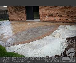 Flagstone Patio Installation Scott Flanagan Landscape Contractor In Orland Park Orland Park