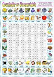 Countable And Uncountable Nouns Exercises Advanced Pdf 15 Best Educación Images On Lessons Teaching