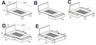 materasso piazza e mezza misure materasso una piazza e mezza misure idee di design per la casa