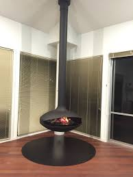 the aether suspended fireplace by aurora fires aurora suspended